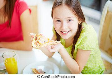 consumo pizza