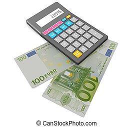 contabilidad, concepto, 3d