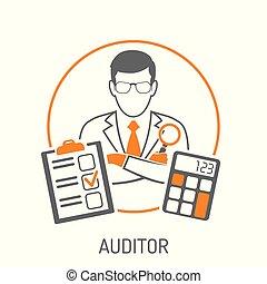 contabilidad, concepto, auditor