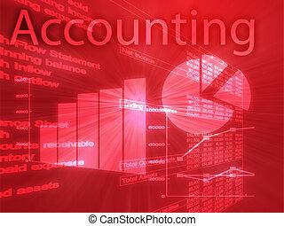 contabilidad, ilustración