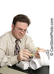 contabilidade, série, -, highlighter