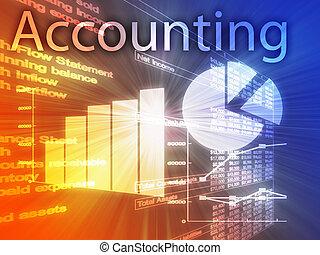 contabilità, illustrazione