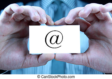 contact - business card