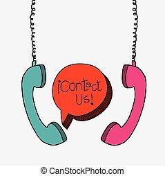 contact, conception, nous