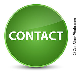 Contact elegant soft green round button