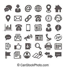 contact, iconen