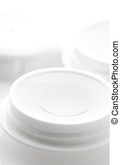 Contact lenses in container
