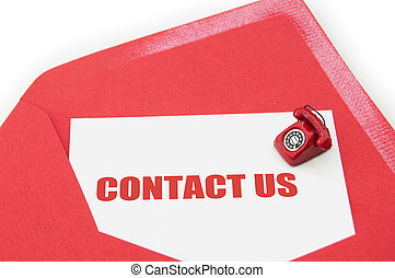contact, nous