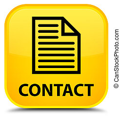 Contact (page icon) special yellow square button