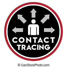 Contact Tracing Icon - This icon is designed to promote ...