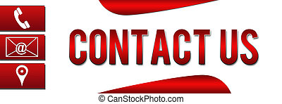 Contact Us Banner Red