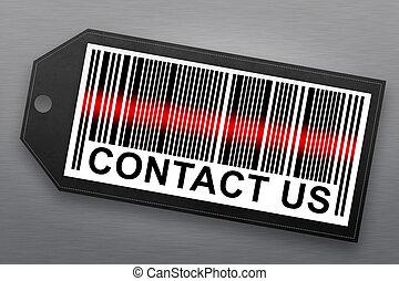 contact us barcode