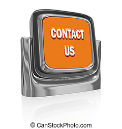Contact Us Button Icon