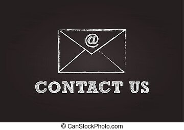 Contact Us By Mail Envelope