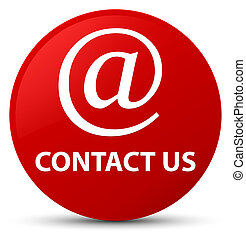 Contact us (email address icon) red round button
