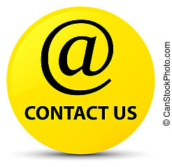 Contact us (email address icon) yellow round button