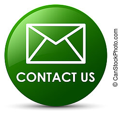 Contact us (email icon) green round button