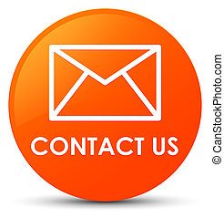 Contact us (email icon) orange round button