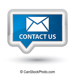 Contact us (email icon) prime blue banner button