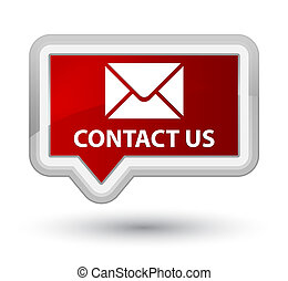 Contact us (email icon) prime red banner button