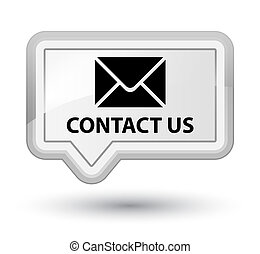 Contact us (email icon) prime white banner button