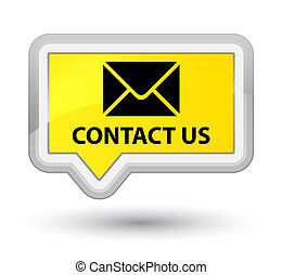 Contact us (email icon) prime yellow banner button