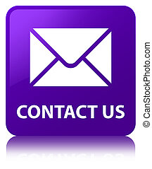 Contact us (email icon) purple square button