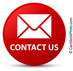 Contact us (email icon) red round button
