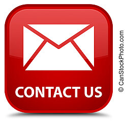 Contact us (email icon) special red square button