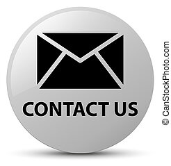 Contact us (email icon) white round button