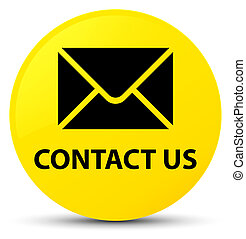 Contact us (email icon) yellow round button