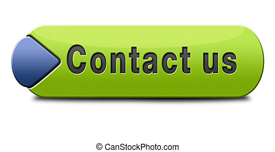 contact us for feedback icon or sign. Coordinates and...
