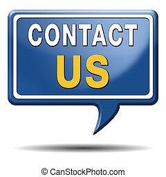 contact us icon - contact us for feedback icon or sign. ...