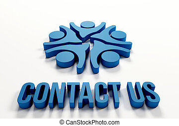 Contact us people logo