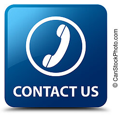Contact us (phone icon) green square button  Contact us