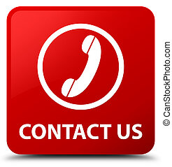 Contact us (phone icon) red square button