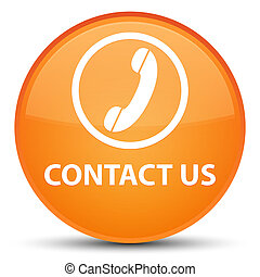 Contact us (phone icon) special orange round button