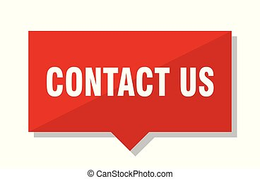 contact us red tag
