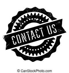 Contact us stamp