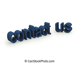 contact us text on white background. FOND MORE texts in my ...