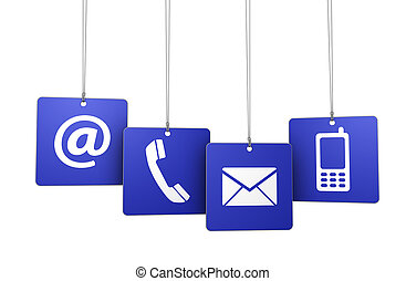 Contact Us Web Internet Tags