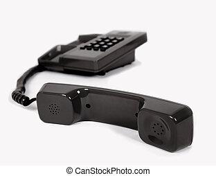 contacteer ons, door, de, telefoon