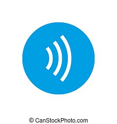 Contactless payment icon. Tap to pay concept - vector sign....