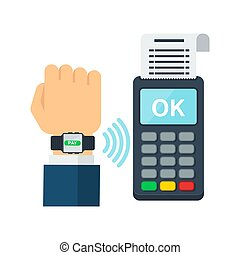 Contactless payment using RFID or NFC technology -...