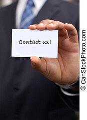contacto, us!