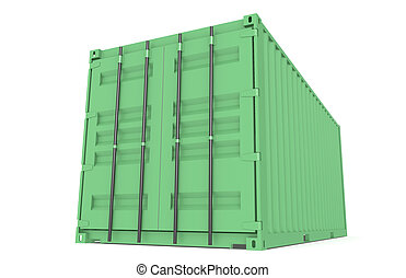 Container Eco. Part of Warehouse and Logistics Series