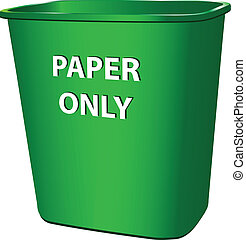 Container for paper