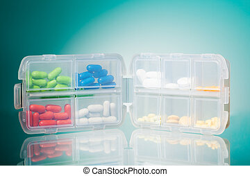 Container full of drugs
