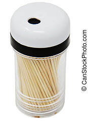 Container of Toothpicks