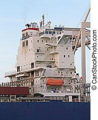 Container Ship Bridge